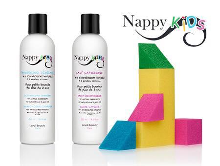 Nappy Kids : gamme pour enfants de Nappy Queen
